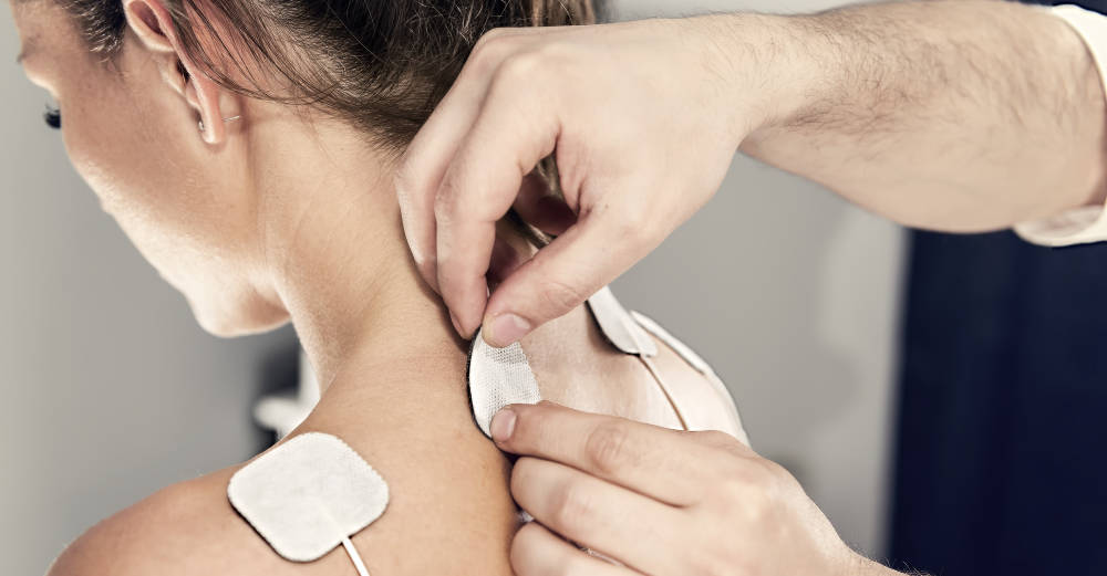 how to use a Tens Unit for neck pain