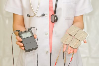 physical therapists recommended TENS unit