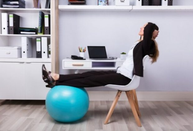 Gaiam Balance Ball Chair Review
