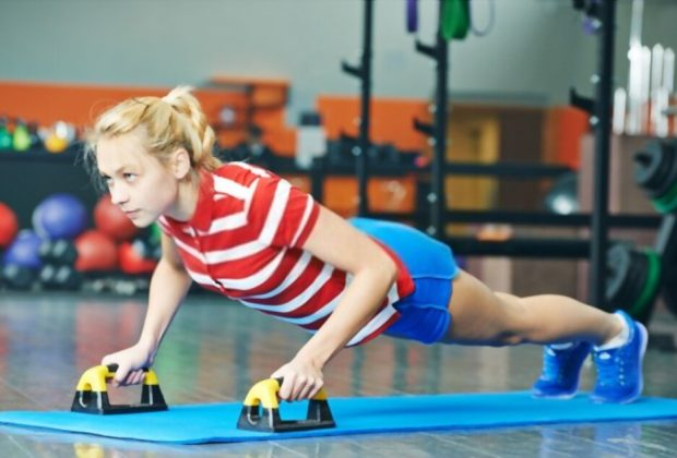 how to strengthen arms for push ups